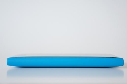 Arête droite du Nokia Lumia 800