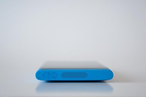 Le dessous du Nokia Lumia 800