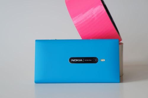 Le dos du Nokia Lumia 800