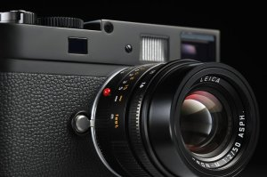 Leica M Monochrom, vu de face