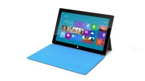 Tablette Microsoft Surface avec son clavier amovible