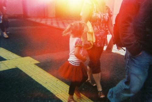 Image provenant de The Last Camera, avec fuite de lumière