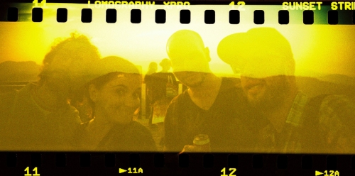 Un exemple de photo prise avec le Lomography Color X-Pro Sunset Strip