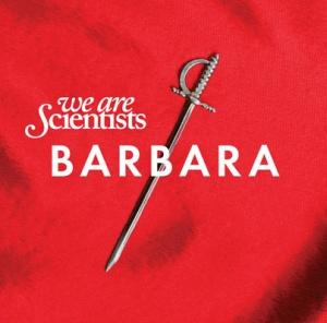 Couverture de l'album Barbara, du groupe We Are Scientists