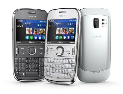 Trois couleurs du Nokia Asha 302