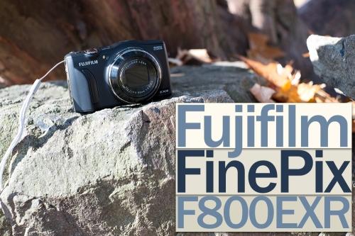 Le Fujifilm F800EXR, entête d'article