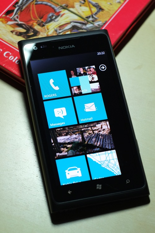 Écran de démarrage du Lumia 900