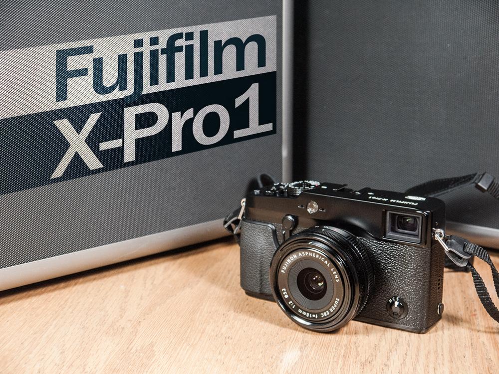 Entête de l'article sur le Fujifilm X-Pro1