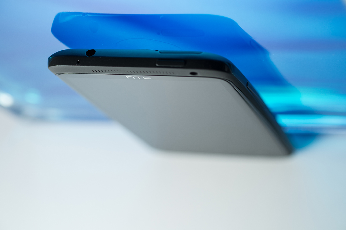 HTC One X, dessus