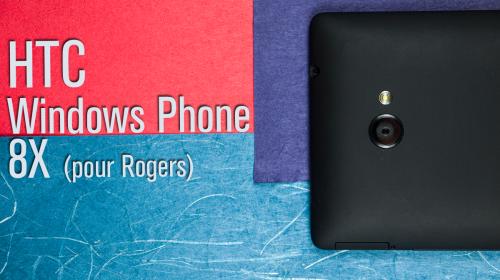 Image titre de l'article présentant le haut arrière du HTC Windows Phone 8X